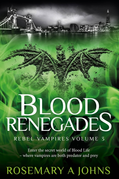 Vampire Book - Blood Renegades - Rosemary A Johns