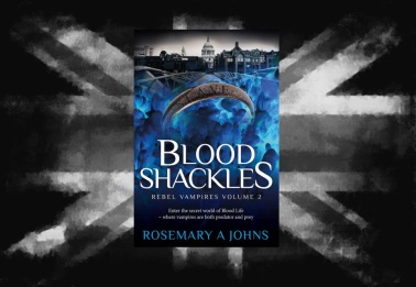 Blood Shackles Vampire book by Rosemary A Johns