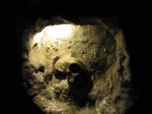 SKULL - cave - gibraltar