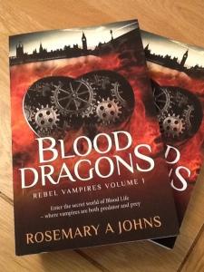 Paperback Blood Dragons