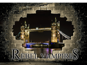 rebel-vampires-black-letters Fantasy book Rebel Vampires Rosemary A Johns