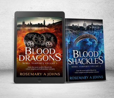 Blood Dragons and Blood Shackles - Rebel Vampires Fantasy Series