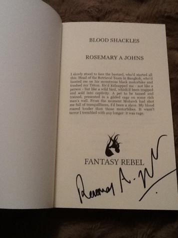 signed-blood-shackles rebel Vampires Rosemary A Johns fantasy author signature