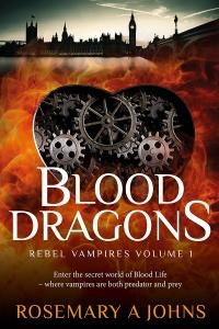 Blood Dragons Rosemary A Johns Fantasy Vampire Book Rebel Vampires