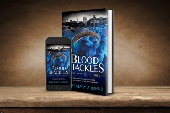 Blood Shackles fantasy vampire books by Rosemary A Johns