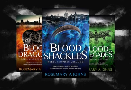 Rebel Vampires series by Rosemary A Johns