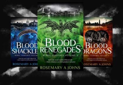 Rebel Vampires series - Rosemary A Johns