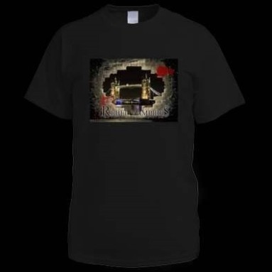 Rebel Range Black T-shirt rebel Vampires
