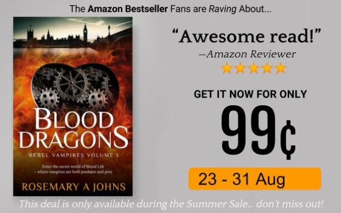 Blood Dragons - Rosemary A Johns