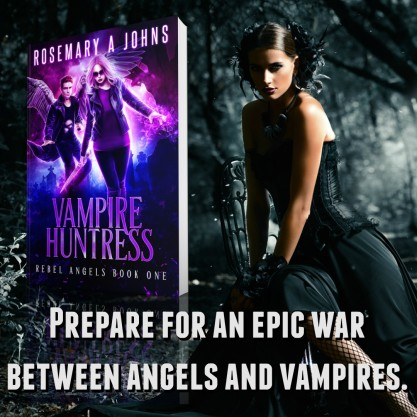 Vampire Huntress Rebel Angels series, Rosemary A Johns