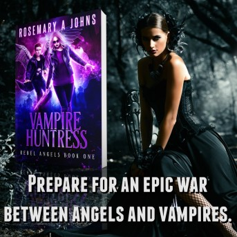 Vampire Huntress - Rebel Angels by Rosemary A Johns
