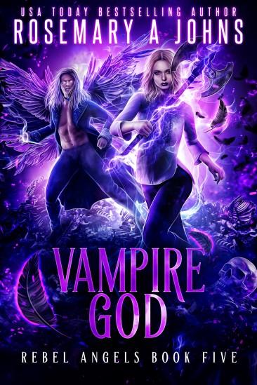 VAMPIRE GOD BY ROSEMARY A JOHNS