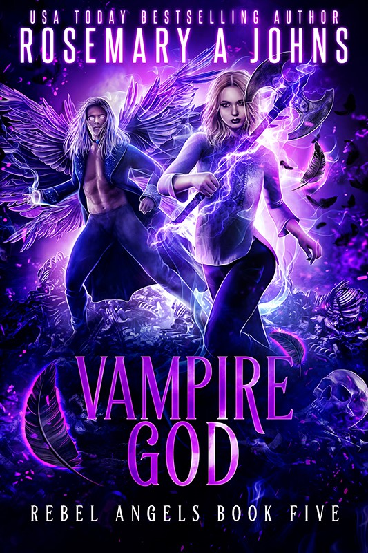 Vampire God in Rebel Angels series by Rosemary A Johns
